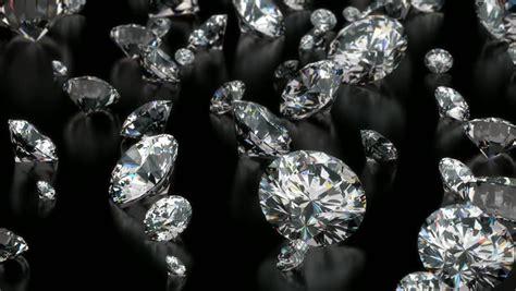 slowly falling diamonds beautiful background seamless