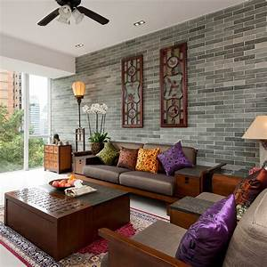 15, Peaceful, Asian, Living, Room, Interiors, Designed, For, Comfort