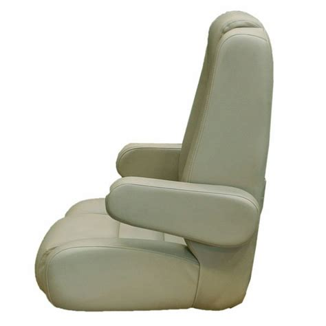 captains chairs for boats uk harbor zephyr reclining vinyl boat captains seat