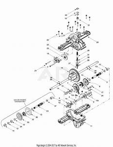 Mtd 13ak604g401  2000  Parts Diagram For Single Speed