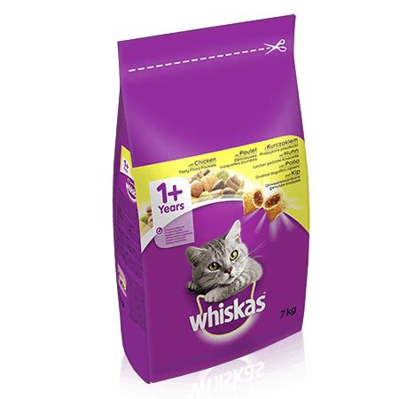 Whiskas 7 Kg dental protection chicken 7kg cat food whiskas 174 uk