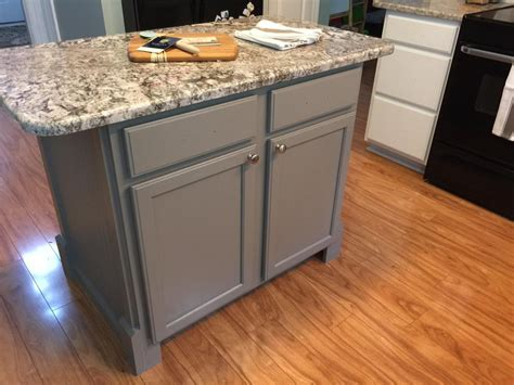 white cabinets with dovetail gray island 2 cabinet
