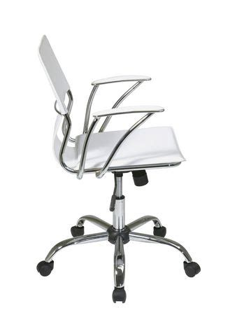 white office chair walmart office products dorado white office chair walmart ca
