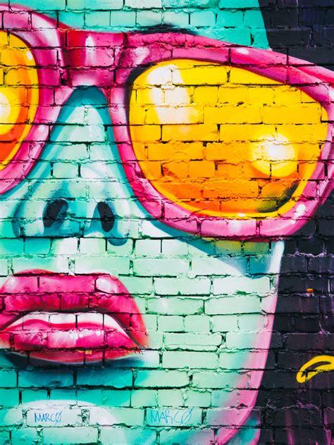 girl  sunglasses graffiti wallpaper iphone android