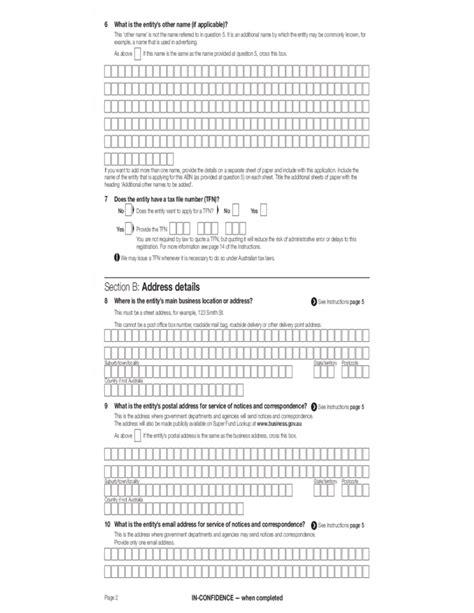 abn form pdf abn form