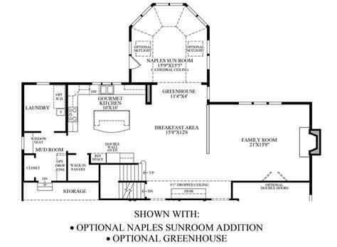 sunroom floor plans greenville overlook the stansbury home design