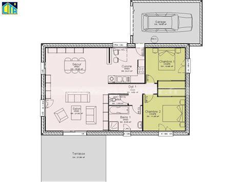 plan maison etage 2 chambres bien plan de maison a etage 5 chambres 2 une maison