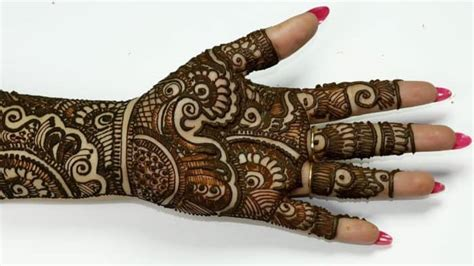 excellent gujarati mehndi designs images sheideas