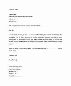 Cancel Contract Letter Templates Free 15 Sample Service Termination Letter Templates In