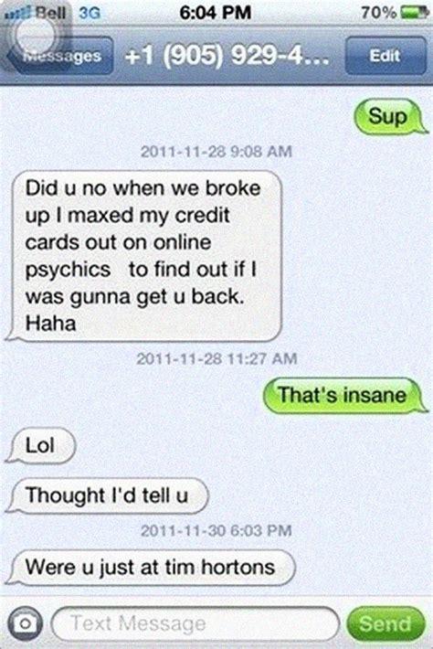 funniest breakup texts comebacks  trolling team