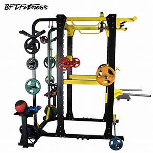 Bft1033 Multifunctional Adjustable Power Cage Squat Rack For Sale Bft Fitness Equipment Factory