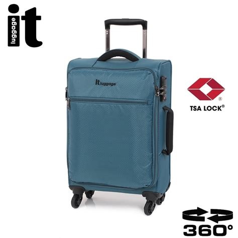 Lightest Cabin Bag by It Carry On Luggage The Lite Trolley Cabin Bag Lightweight