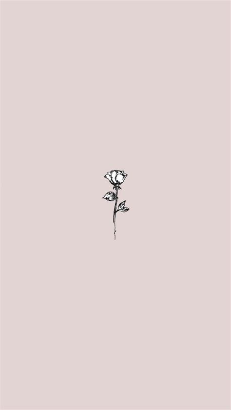Aesthetic Lock Screen Wallpaper Minimalist by Image About In Cutie Phone Wallpapers By C H O