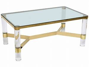 amazing lucite coffee table ikea homesfeed With lucite and wood coffee table