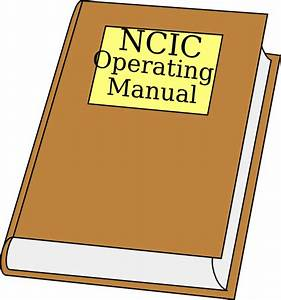 Ncic Operating Manual Clipart Clip Art At Clker Com