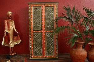 Möbel Aus Indien : kleiderschrank schrank handbemalt blumen recycelt holz indien ~ Sanjose-hotels-ca.com Haus und Dekorationen