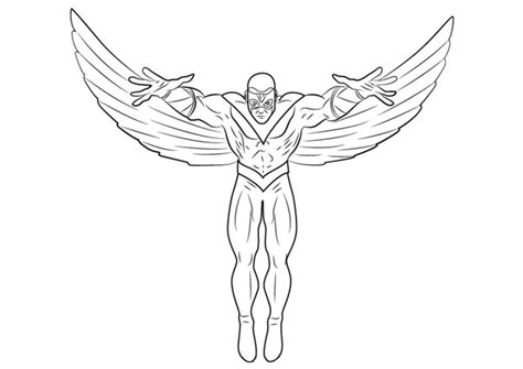 coloring pages falcon printable  kids adults