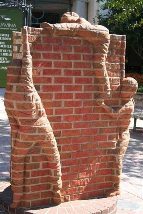 beautiful  ingenious brick projects   home