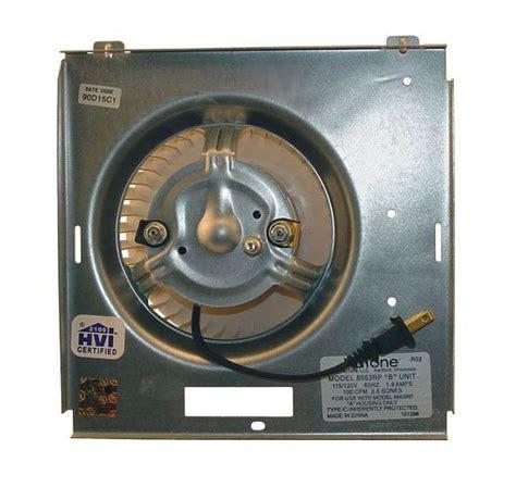 nutone broan s97017705 fan motor blower wheel assembly