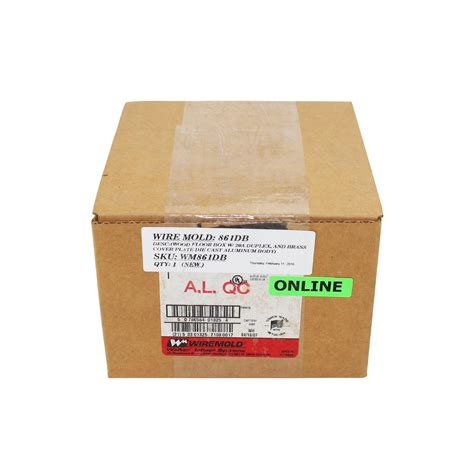 Wiremold Floor Boxes For Wood by Wiremold 861db Floor Box For Wood Floors 20a Receptacle