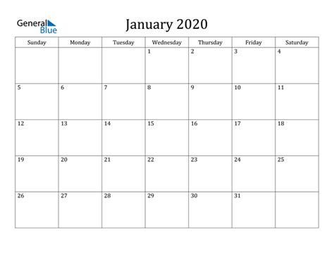 january  calendar  word excel