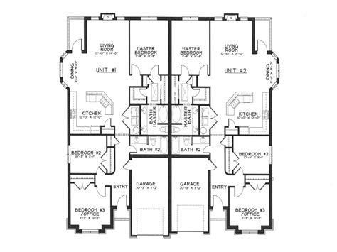 modern duplex house plans duplex house designs floor plans