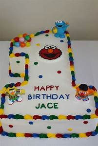 Sesame Street 1St Birthday Cake - CakeCentral com