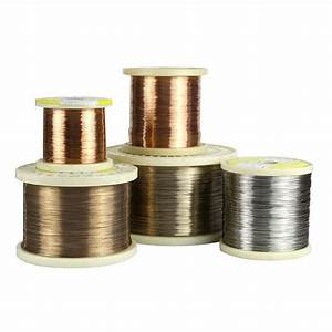 Cuni10    Alloy90 Heat Resistant Copper Alloys Wire For