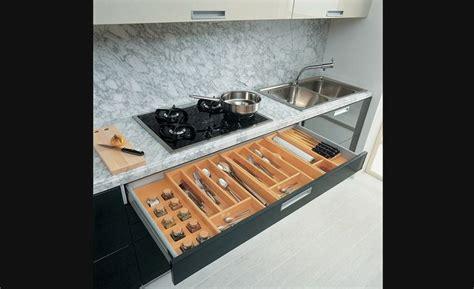 accessoire tiroir cuisine diviseur à couverts rangement pour armoires de cuisine accessoires de cuisine armoirs