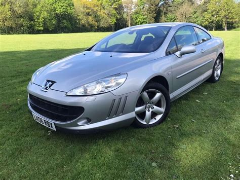 2006 Peugeot 407 Coupe 2.2 Gt Spec Sat Nav Leather Heated