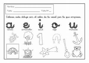 Dibujos Para Colorear De Las Vocales En Ingls Imagui