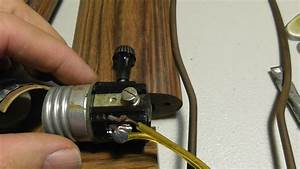 How To Rewire A Lamp Replace Lamp Socket Rewire Lamp Cord