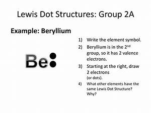 31 Electron Dot Diagram For Beryllium