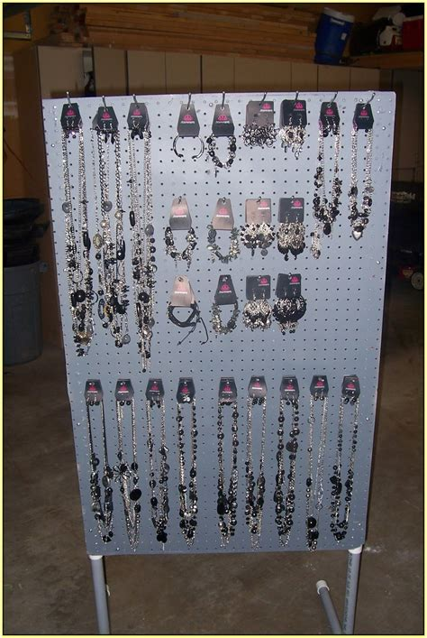 Pegboard Jewelry Display   Home Design Ideas