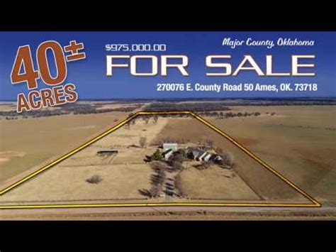 40.00 acres in Major County, Oklahoma