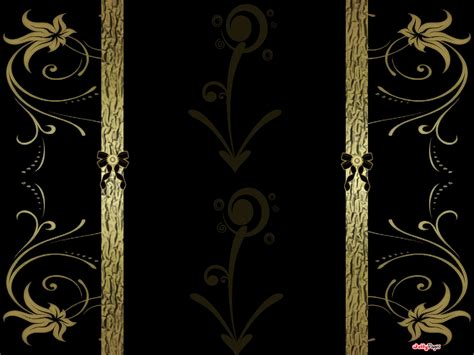 Black And Gold Background 11 Free Hd Wallpaper