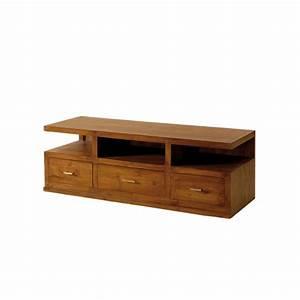 meuble tv en teck in line pas cher origin39s meubles With maison du monde meuble tv 3 meuble tv industriel factory 2 tiroirs origins meubles