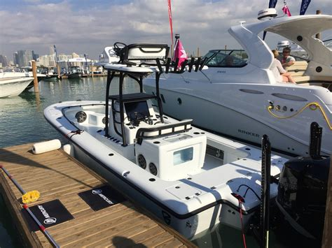 Evinrude Miami Boat Show by Miami Boat Show 2017 The Hull Boating And