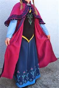 Disney Frozen Princess Anna Dress Pattern