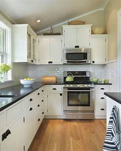 sloped beadboard ceiling transitional kitchen union With kitchen colors with white cabinets with large black and white canvas wall art