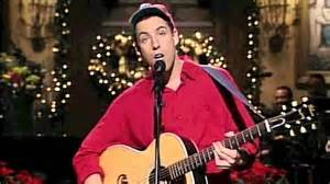 adam sandler quot the christmas song quot youtube
