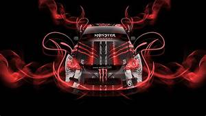 Monster Energy Toyota Altezza Neon Plastic Car 2014 el Tony