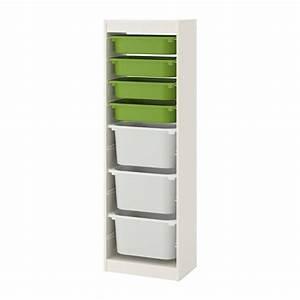 Spielzeug Aufbewahrung Ikea : trofast aufbewahrung mit boxen wei gr n wei ikea ~ Michelbontemps.com Haus und Dekorationen
