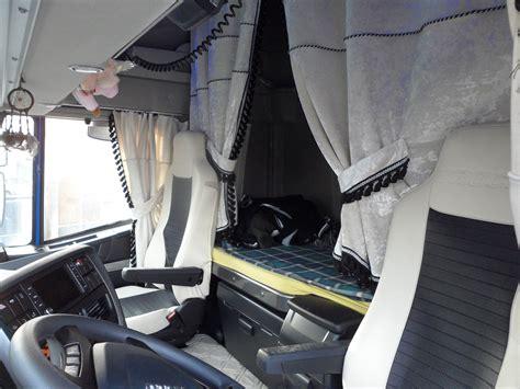 cabina camion tende fashion completo in velluto per camion