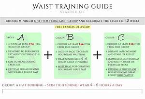 Waist Training Guide Starter Kits