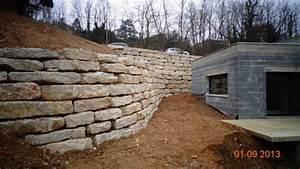 incroyable prix terrassement chemin d acces 12 mur de With prix terrassement chemin d acces