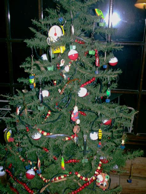 fishing themed christmas tree  hull truth boating