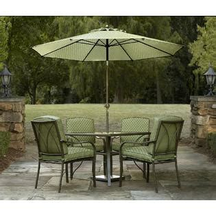 garden oasis shoal creek 5pc dining set outdoor living