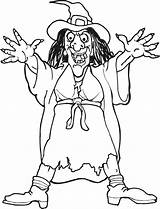Coloring Witch Halloween Scary από αποθηκεύτηκε sketch template