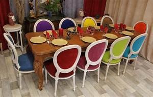 salle a manger weba 2 chaises de salle a manger louis With salle À manger contemporaineavec chaise couleur